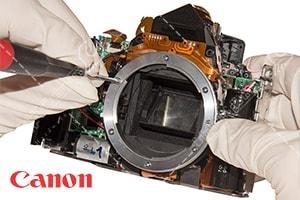 آموزش تعمیر دوربین کانن