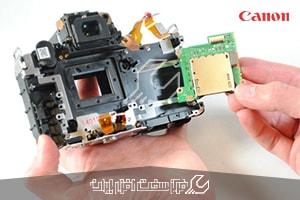 تعمیر سنسور دوربین کانن