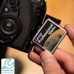 شناسایی نشدن کارت حافظه دوربین کانن