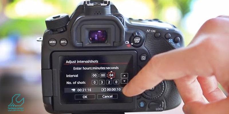 آموزش عکاسی تایم لپس با دوربین کانن